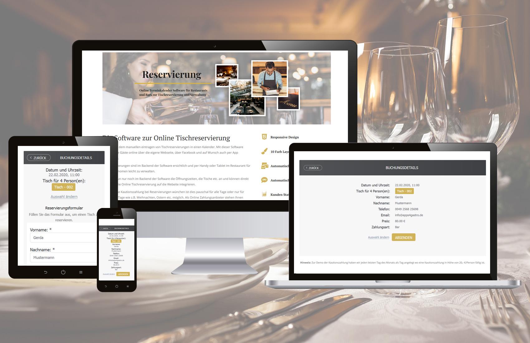 gastro-webseite